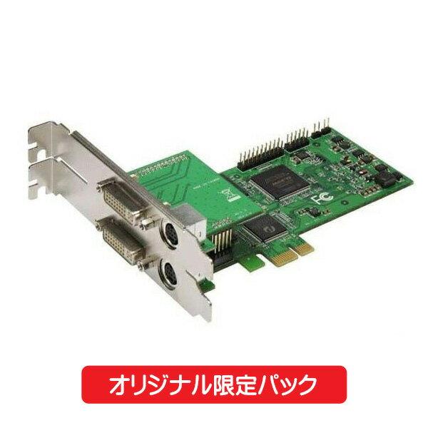 【エントリー&カードでポイント5倍!】【限定パック】 マイコンソフト HD&DVIキャプチャー・ボード SC-512N1-L/DVI N HDMIケーブル付 DP3913548 【送料無料】