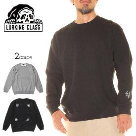LURKING CLASS ラーキングクラス トレーナー メンズ SUNSHINE HOOD 2020秋冬 ブラック M/L/XL 【evi】