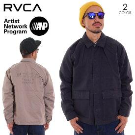 RVCA ルーカ アウター メンズ COACH OF THE YEAR AI042-754 2018秋冬 ブラック/ベージュ S/M/L