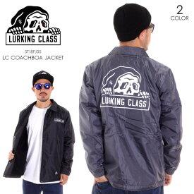 LURKING CLASS ラーキングクラス アウター メンズ ジャケット メンズ LC COACHBOA JACKET ST18FJ05 2018秋冬 グレー/ブラック M/L