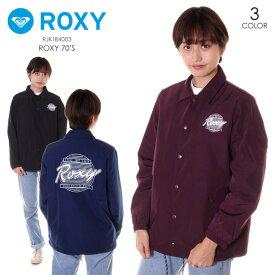ROXY ロキシー コーチジャケット レディース ROXY70'S RJK184003 2018秋冬 ブラック/バーガンディー/ネイビー S/M/L