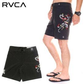RVCA ルーカ ボードショーツ メンズ COLIN AND BERT TRUNK 2019春夏 ブラック 28/30/32