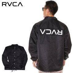 RVCAルーカコーチジャケットメンズRVCAPATCHJACKET2019秋冬ブラック/ホワイトS/M/L/XL