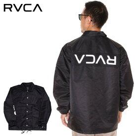 RVCA ルーカ コーチジャケット メンズ RVCA PATCH JACKET 2019秋冬 ブラック/ホワイト S/M/L/XL 【evi】