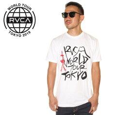 RVCAルーカTシャツメンズUKYOTOKYO2019春夏ホワイトS/M/L