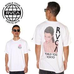 RVCAルーカTシャツメンズNOPANTIESTOKYO2019春夏ホワイトS/M/L