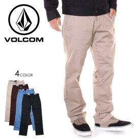VOLCOM ボルコム パンツ メンズ FRICKIN MODERN STRETCH 2019秋冬 ブラック/ブラウン/ベージュ/グレー 28/30/32/34