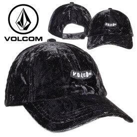 VOLCOM ボルコム キャップ レディース JUST A CRUSH HAT ブラック フリーサイズ