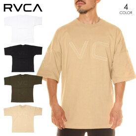 RVCA ルーカ Tシャツ メンズ FAKE RVCA TEE 2020春夏 ブラック/グリーン/ベージュ/ホワイト S/M/L 【evi】 【SUMMER SALE】