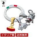 Silver Mirco シルバー ミルコ 七宝のキーリング&チャーム ネズミとネコのレース シルバー 925 イタリア製 brsm0003 …