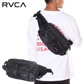 RVCA ルーカ リュック メンズ WAIST PACK DELUXE 2019秋冬 ブラック ワンサイズ