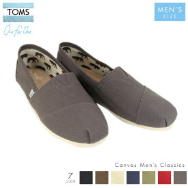 TOMS トムス メンズ スリッポン TOMS SHOES CANVAS MEN'S CLASSICS 【evi】