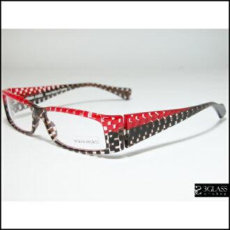 阿兰 · Mili Mr.Alain 眼镜 AL0412 彩色 0100年男士眼镜太阳镜眼镜