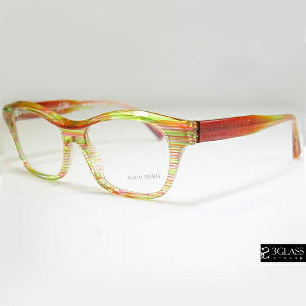 alain mikli アランミクリ メガネAO3006 カラーBOC9【楽ギフ_包装】 メンズ メガネ サングラス 眼鏡【ありがとう】【店頭受取対応商品】