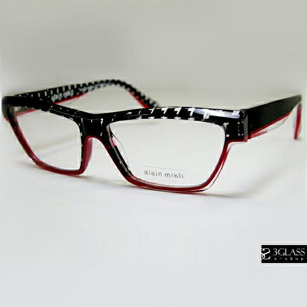 alain mikli アランミクリ メガネ アペサンター AO3045 カラーMC027(正規品)【楽ギフ_包装】 メンズ メガネ サングラス 眼鏡 【店頭受取対応商品】