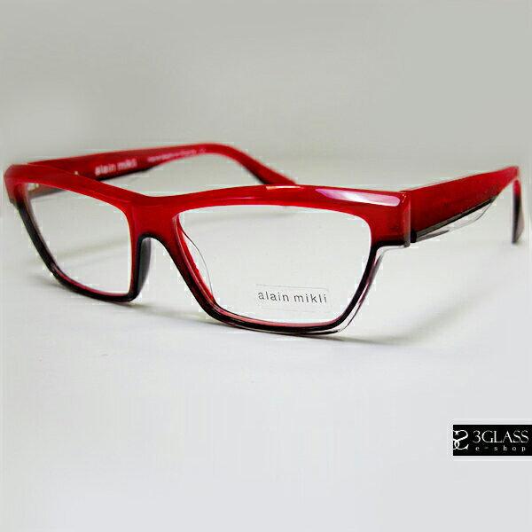 alain mikli アランミクリ メガネ アペサンター AO3045 カラーMC028(正規品)【楽ギフ_包装】 メンズ メガネ サングラス 眼鏡【ありがとう】【店頭受取対応商品】