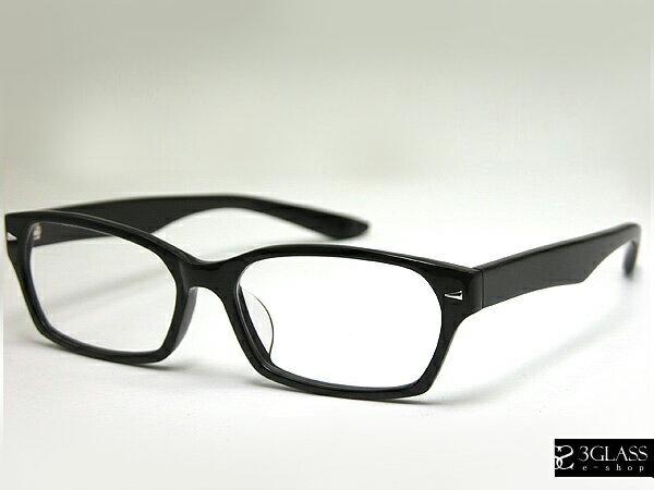 ■GACKT最新使用黒ぶちメガネ■【3GLASS e-sop】【楽ギフ_包装】 メンズ メガネ サングラス【ありがとう】【店頭受取対応商品】