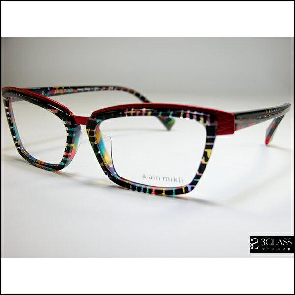alain mikli アランミクリ メガネAO AO2015A カラーB0F3【楽ギフ_包装】 メンズ メガネ サングラス 眼鏡【ありがとう】【店頭受取対応商品】