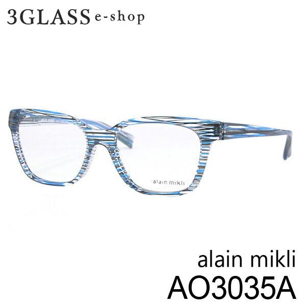 ■alain mikli アランミクリ AO3035A 2カラー BOD3 BOF3 53mmメンズ メガネ サングラス 眼鏡alainmikli ao3035a【ありがとう】【店頭受取対応商品】