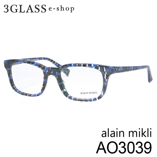 ■alain mikli アランミクリ AO3039 カラー 3043 50mmメンズ メガネ サングラス 眼鏡alainmikli ao3039【ありがとう】【店頭受取対応商品】