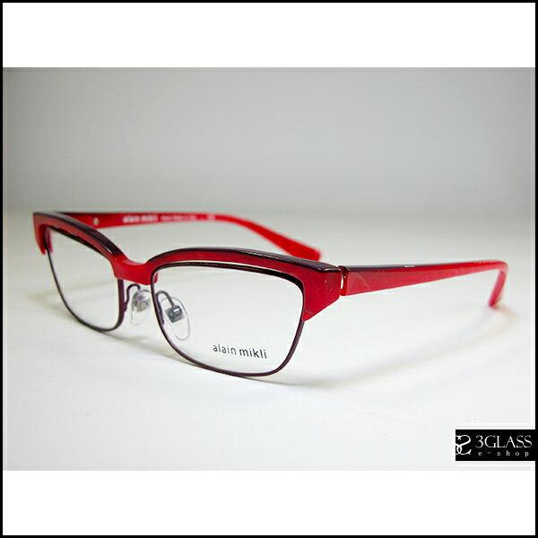 alain mikli アランミクリ メガネAO 3056 カラーC028【楽ギフ_包装】 メンズ メガネ サングラス 眼鏡【ありがとう】【店頭受取対応商品】