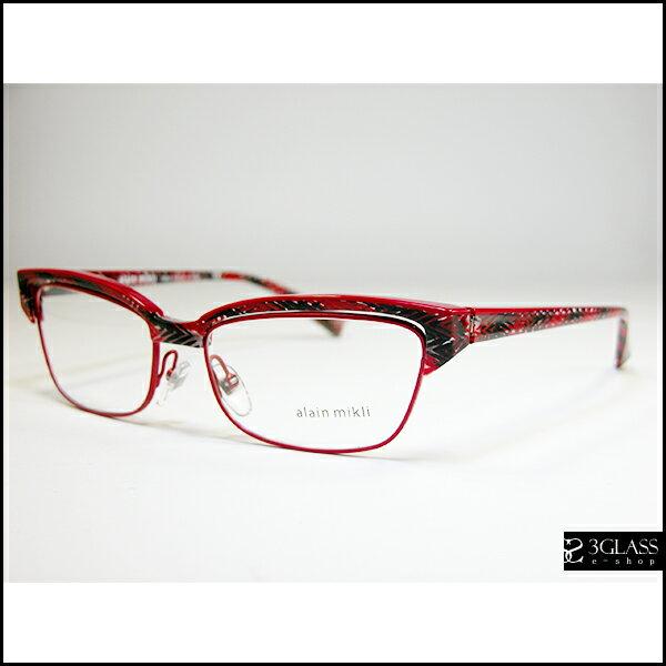 alain mikli アランミクリ メガネAO 3056 カラーD011【楽ギフ_包装】 メンズ メガネ サングラス 眼鏡【ありがとう】【店頭受取対応商品】