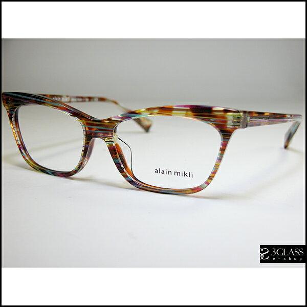 alain mikli アランミクリ メガネAO3059A カラーE012【楽ギフ_包装】 メンズ メガネ サングラス 眼鏡【ありがとう】【店頭受取対応商品】