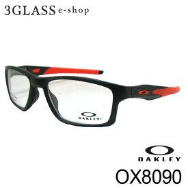 OAKLEY オークリー OX8090 4カラー55mm メンズ メガネ 眼鏡 サングラス【店頭受取対応商品】