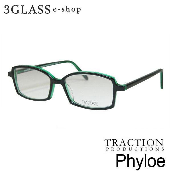 TRACTIONトラクション Phyloe 52mm2カラー Epicea Resille_Bleuメンズ メガネ 眼鏡 サングラス【ありがとう】【店頭受取対応商品】