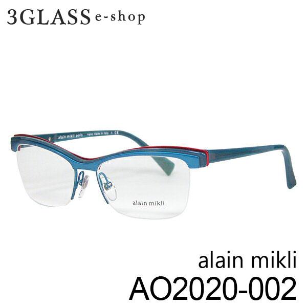 ■alain mikli アランミクリ AO2020 カラー 002 54mmメンズ メガネ サングラス 眼鏡alainmikli ao2020【ありがとう】【店頭受取対応商品】