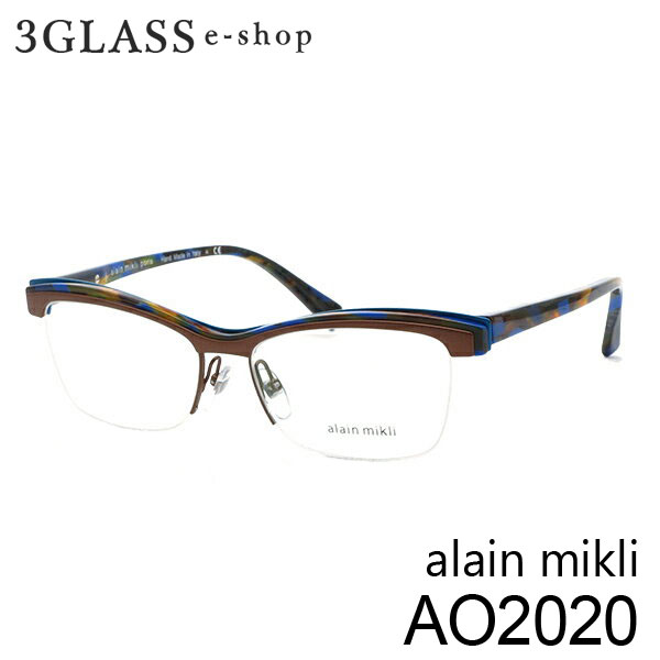 ■alain mikli アランミクリ AO2020 カラー E177 54mmメンズ メガネ サングラス 眼鏡alainmikli ao2020【ありがとう】【店頭受取対応商品】
