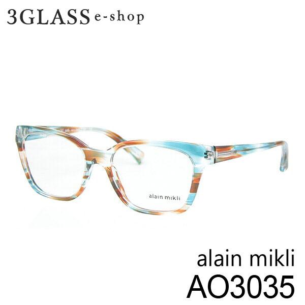 ■alain mikli アランミクリ AO3035 カラー 002 53mmメンズ メガネ サングラス 眼鏡alainmikli ao3035【ありがとう】【店頭受取対応商品】