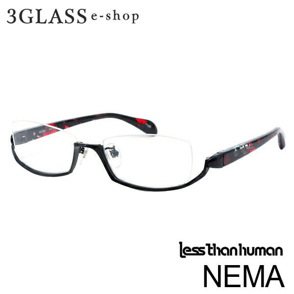 less than human(レスザンヒューマン)ENIGMA NEMA 6カラー 89 195 1010 2101 8080 9610 54mmメンズ メガネ 眼鏡 サングラス enigma 【店頭受取対応商品】