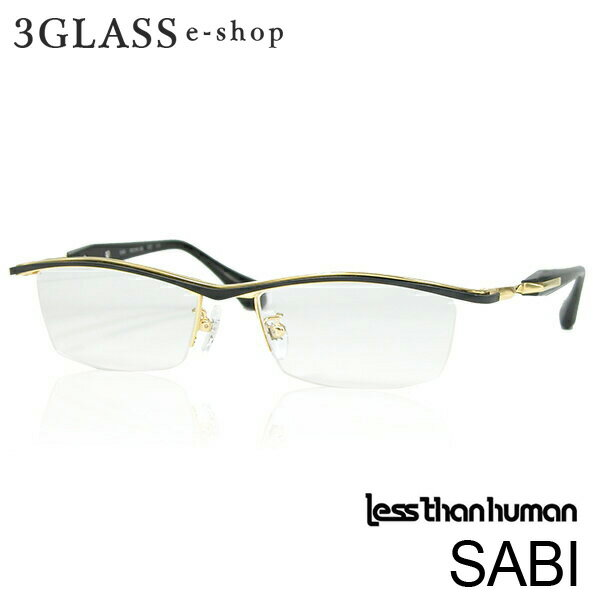 less than human(レスザンヒューマン)SABI 072 8080メンズ メガネ 眼鏡 サングラス【ありがとう】【店頭受取対応商品】