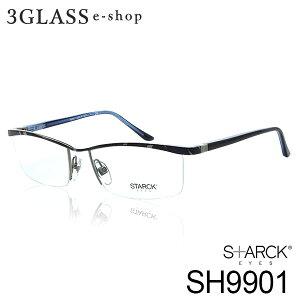 STARCK EYES スタルクアイズ SH9901 カラー 0059(青) 0062(赤) 0050J2(オレンジ) 0053J2(ブルー) 0054J(ゴールド) 0056J(ブラウン) 0059J(グレー) 0064(黒)alain mikli アランミクリ 56mm メンズ メガネ サングラス【店頭