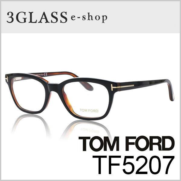 TOM FORD トムフォード TF5207 3カラー 005 047 083 49mmメンズ メガネ サングラス 眼鏡 ギフト対応 tom ford tf5207【ありがとう】【店頭受取対応商品】