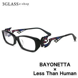 ベヨネッタ 眼鏡『BAYONETTA × Less Than Human』好評発売中!!【楽ギフ_包装】 メンズ メガネ サングラス【店頭受取対応商品】
