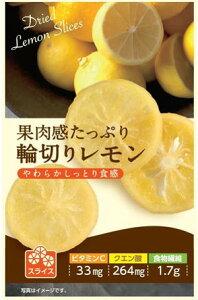 【果肉感たっぷり輪切りレモン 24g 6袋入】 食物繊維 クエン酸 ビタミンC スポーツの後に 紅茶に浮かべても