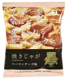 【焼きじゃが ベーコンチーズ味 31g 12袋入】 ★まとめ買い★ 1袋136kcal 薄くて軽い舌触り カロリーオフなポテトチップス