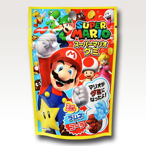 スーパーマリオグミラムネ&コーラ6袋入