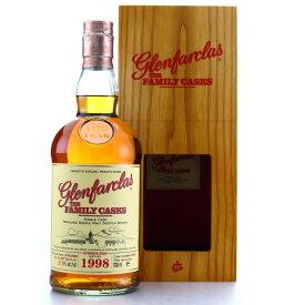 グレンファークラス 1998 シェリー 57.9度 700ml 箱付き RS【誕生日 洋酒 スコッチ 宅飲み お祝い お中元 ウイスキー ギフト お歳暮 父の日】