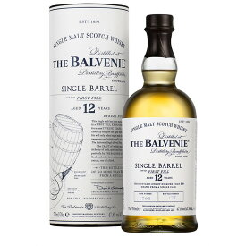 バルヴェニー 12年 シングルバレル 47.8度 700ml 箱付き RS【誕生日 洋酒 スコッチ 宅飲み お祝い お中元 ウイスキー ギフト お歳暮 父の日】