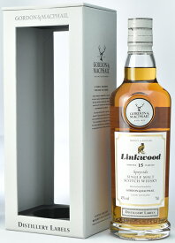 【正規品】リンクウッド 15年 (ゴードン&マクファイル) 43度 700ml J【誕生日 洋酒 スコッチ 宅飲み お祝い お中元 ウイスキー ギフト お歳暮 父の日】