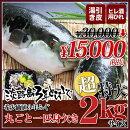 【超特大!!3年とらふぐプレミアム】(元魚2kgサイズ)鍋7人前丸ごと1匹身欠き!白子なし