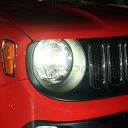 2018y- ジープ/レネゲード(正規輸入車) 専用LED HEAD LIGHT KITキャンセラー内蔵タイプ
