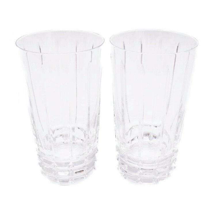 新品未使用展示品 Baccarat バカラ アルルカン ハイボールタンブラー 2点セット クリスタルガラス【本物保証】【中古】