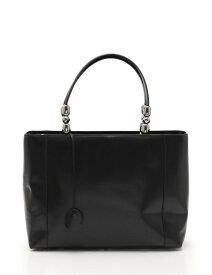 美品 Christian Dior クリスチャンディオール マリスパール トートバッグ レザー 黒 ブラック 2WAY【本物保証】【中古】