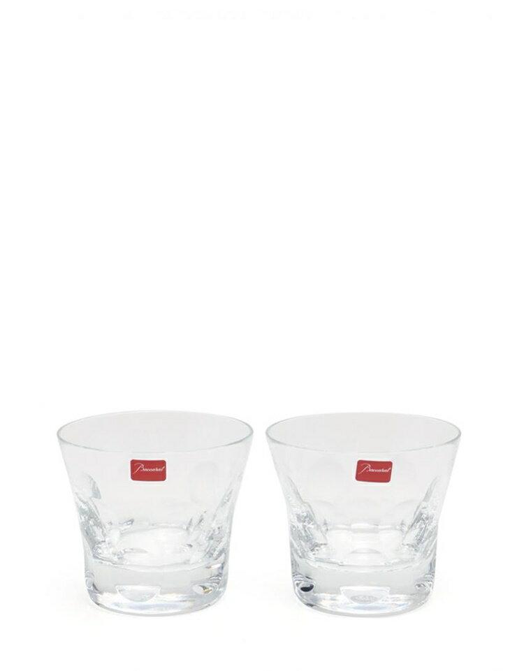 新品未使用展示品 Baccarat バカラ ベルーガ タンブラー ロックグラス 2点セット クリスタルガラス クリア【本物保証】【中古】