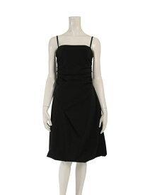 超美品 FOXEY NEW YORK フォクシーニューヨーク ドレス ワンピース 黒 メーカーサイズ40 参考サイズL【本物保証】【中古】