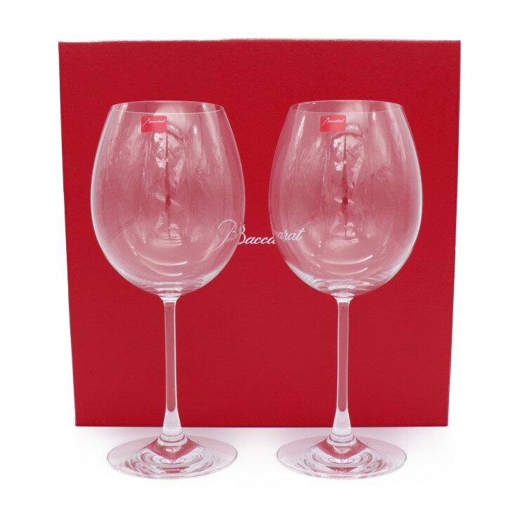 新品未使用展示品 Baccarat バカラ ワイングラス 2脚セット デギュスタシオン グランドボルドー クリスタルガラス【本物保証】【中古】
